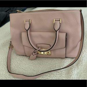 Michael Kors Haley Leather Handbag